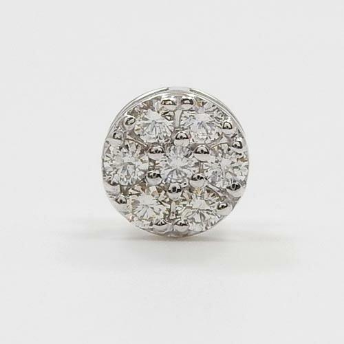 ダイヤモンド トータル0.2カラットK18/K18WG/K18PG/K18YG(青金)4種類からお選びください。ダイヤモンド ペンダントヘッドtypeAAA送料無料