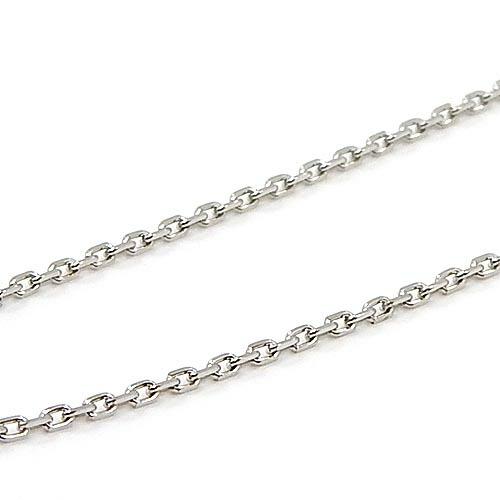 プラチナ(PT850) 小豆チェーン ネックレス(幅1.15mm・長さ55cm/長さ調整可能・ライスパーツ)送料無料