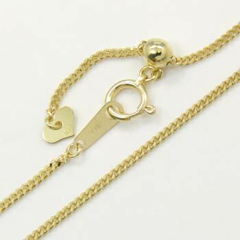 喜平 長さ60センチ 1.4ミリ幅18金ゴールド 60センチ ネックレス (1.4ミリ幅)チェーン(幅1.4mm長さ60cm/長さ調整可能)