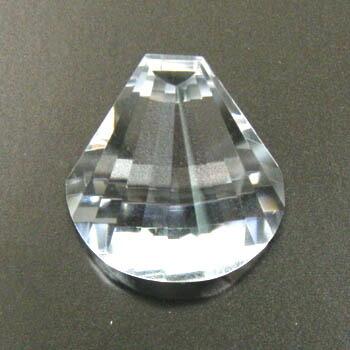 作品 扇 水晶35ct即納(4日前後)可能【R】