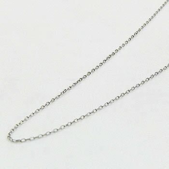プラチナ 0.6ミリ幅 40センチ小豆チェーン ネックレス(Pt850)