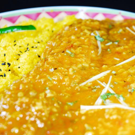 Indian Dal (250 g) & Artie Sannomiya shop in ウコンライス (200 g) Kobe Indian curries specialties! Indian curry rice!