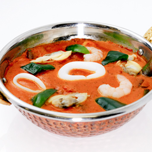 Seafood Curry electric car (250 g) shrimp, squid, sea shells, seafood-packed! In inventing distinctive sweetness of coconut milk!