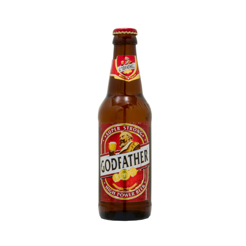 From the Godfather super long 330 ml bottle become a 20-year-old is the GOD FATHER SUPER STRONG liquor, bottle beer
