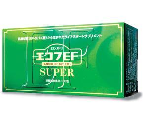 送料無料【エコフEFスーパー 1.5g×66包】本品1包中に6000億相当のEF-621K菌が含有EF-621K菌は腸管内から選び出された乳酸菌ですエコフEFスーパー 1.5g×66包