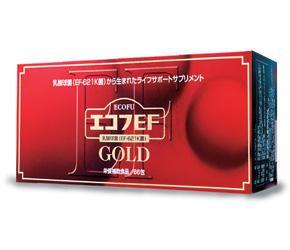 送料無料【エコフEFゴールド 1.8g×66包】本品1包中に6000億相当のEF-621K菌が含有EF-621K菌は腸管内から選び出された乳酸菌ですエコフEFゴールド 1.8g×66包
