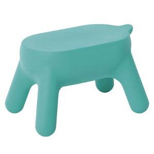 送料無料【プリル ステップスツール ミントブルー PurillStep stool】活躍するときは、しっかりと強く、頼もしい踏み台として。休憩しているときは、かわいいスツール、インテリアとしても踏み台 スツール インテリア 家具プリルステップスツール