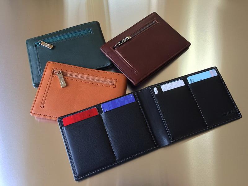 【送料無料】カードをたくさん入れても薄い財布