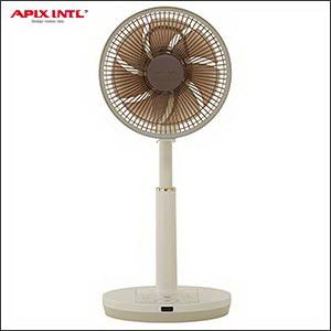 【送料無料】アピックス DCリビング扇風機(25cm/7枚羽根)