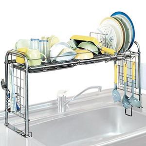 【送料無料】キチンとキッチン収納 シンク収納ラック(KS-2712)