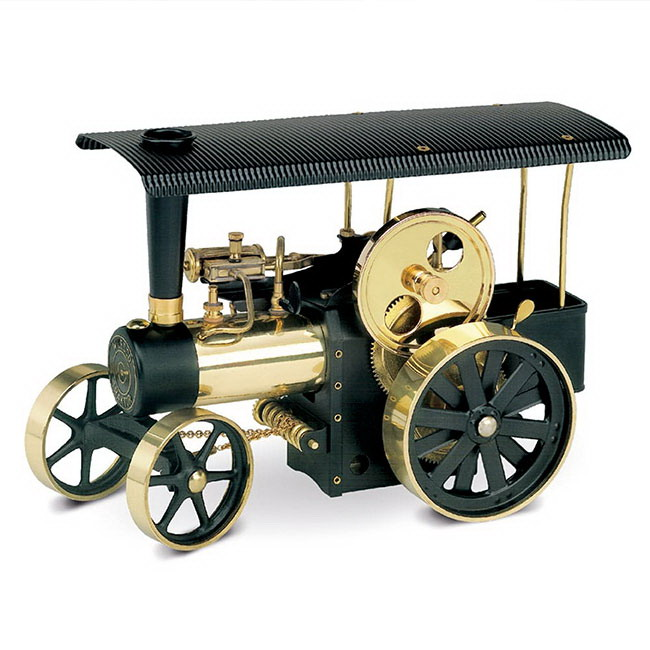 【送料無料】ドイツ ヴィルヘルム・シュレッダー社 蒸気エンジン付道路転圧車(集材車付)(Model D406)
