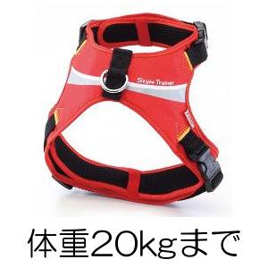 ○Petio/ペティオ StyleTrainer/スタイルトレーナー スプラッシュソフトハーネス Mサイズ(体重20kgまで) レッド