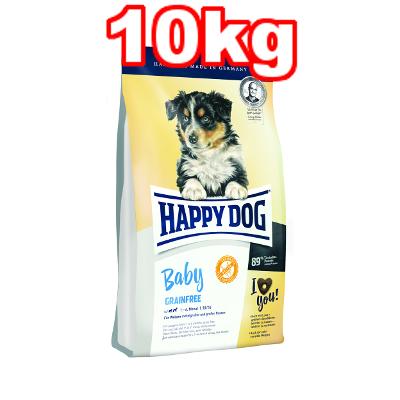 ◎ワールドプレミアム ハッピードッグ ベビー グレインフリー(穀物不使用) 全犬種 子犬用 10kg