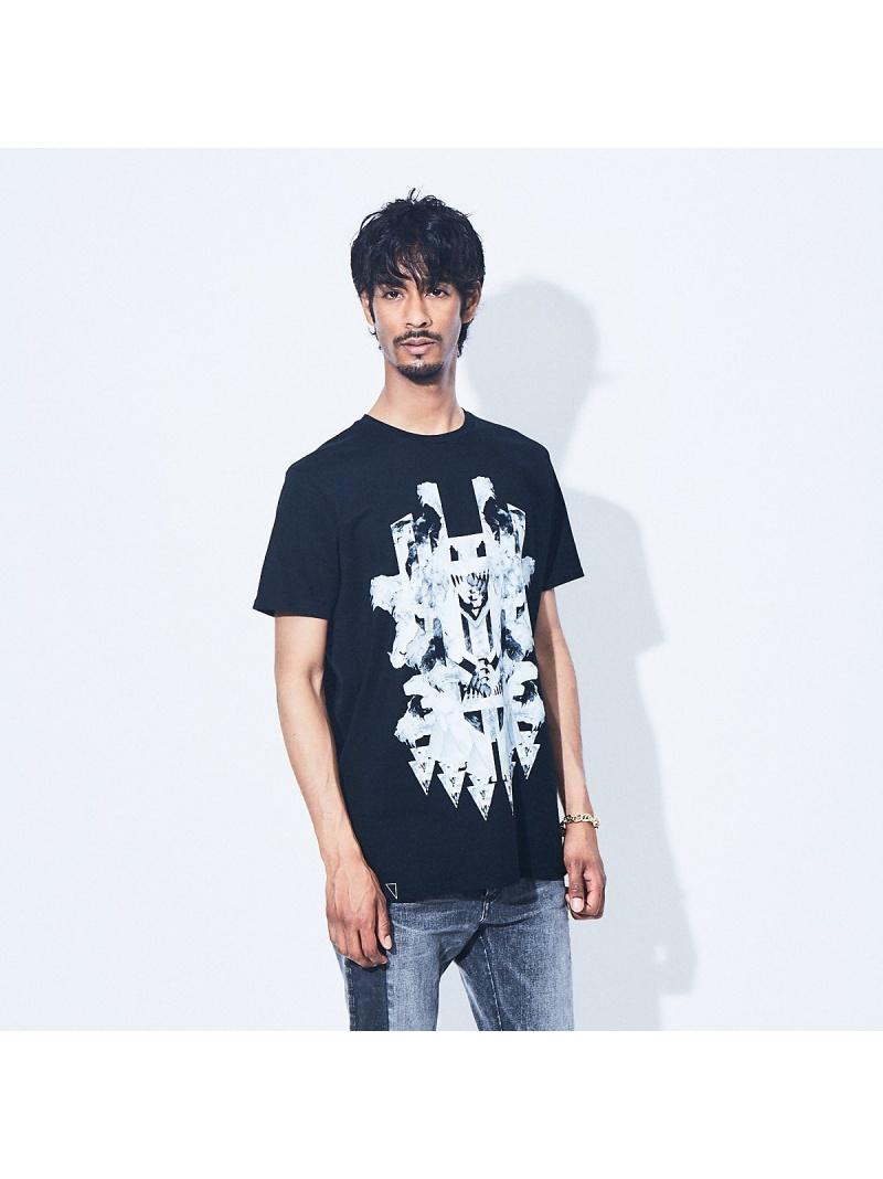 5351POUR LES HOMMES メンズ カットソー ゴーサンゴーイチプールオム ブラックパンサー クルーネック半袖Tシャツ 送料無料 高い素材 2020新作 Tシャツ ホワイト Fashion Rakuten ブラック
