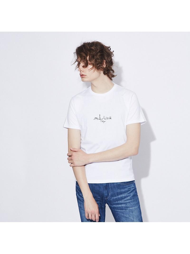 ABAHOUSE 推奨 メンズ カットソー アバハウス LASTWORD 展開店舗限定 CITY刺繍 半袖Tシャツ Rakuten 送料無料 ブラック ベージュ ネイビー Tシャツ セール品 ホワイト Fashion