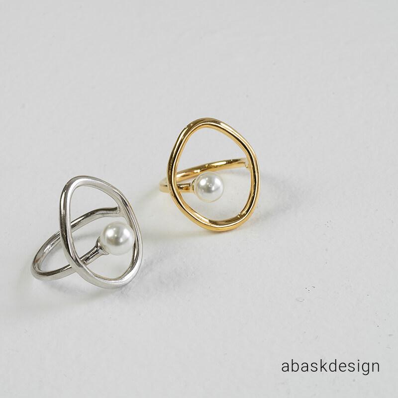 リング 指輪 レディース アクセサリー アウトレット アクセ ファッション シルバー silver ゴールド gold メール便送料無料 ラウンドフレームパールリング ギフト シンプル おしゃれ 可愛い 編み込み プレセント 即納 デザイン 重ね付け ブレイド 大人 女性