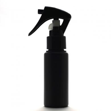 トリガー仕様ヘッド 激安通販専門店 日本製ボトル 高濃度エタノール対応 ガンスプレーボトル 50mL 希望者のみラッピング無料 5本セット 遮光性 空容器スライドロック付き