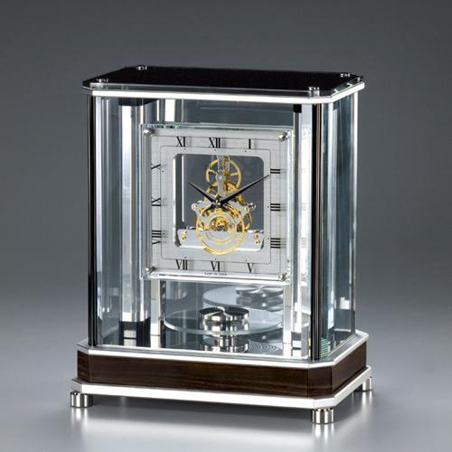 セイコー デコール SEIKO DECOR 【代引決済不可】 高級置時計 クオーツ・スケルトンムーブメント 空間を知的に飾る クールな時のモダンインテリア AZ752S