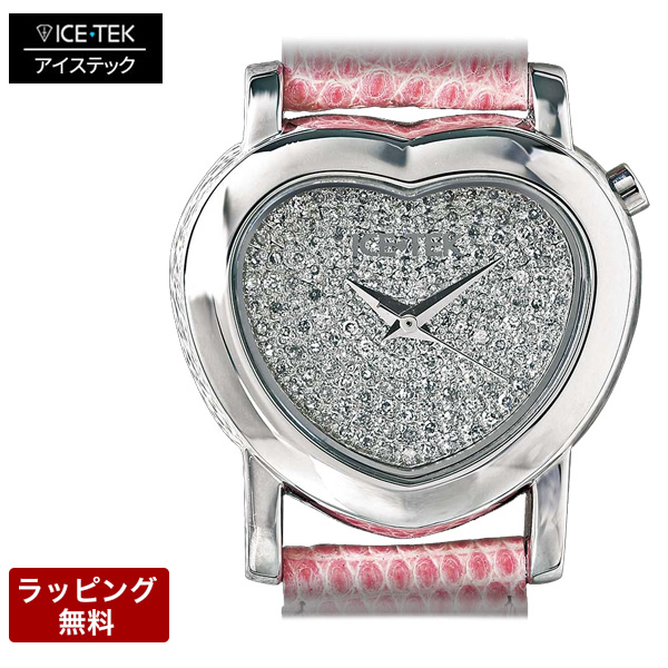 ICE TEK アイステック 【代引決済不可】 Pave Petite Valentine パヴェ プチ バレンタイン レディース 腕時計 MHS03-P
