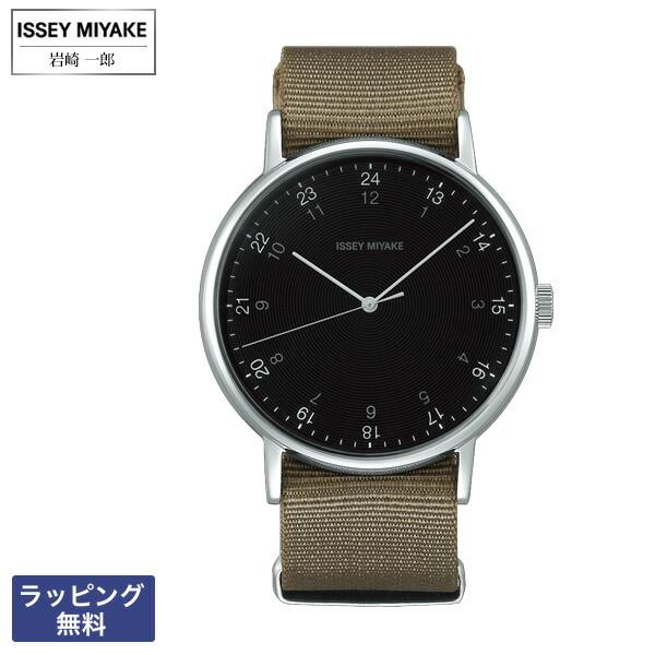 イッセイミヤケ 腕時計 ISSEY MIYAKE f エフ Ichiro Iwasaki 岩崎 一郎 クオーツ メンズ 腕時計 NYAJ004