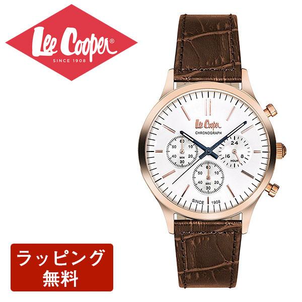 リークーパー 腕時計 Lee Cooper リークーパー QUARTZ クオーツ Super metal スーパーメタル CHRONOGRAPH クロノグラフ メンズ 腕時計 LC6293.434