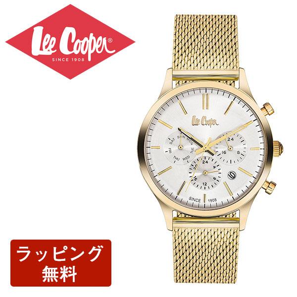 リークーパー 腕時計 Lee Cooper リークーパー QUARTZ クオーツ Super metal スーパーメタル CHRONOGRAPH クロノグラフ メンズ 腕時計 LC6294.130
