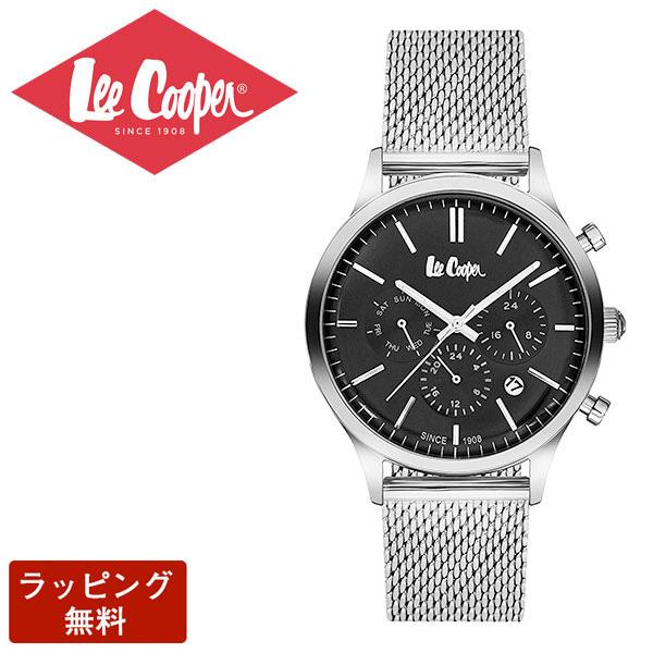 リークーパー 腕時計 Lee Cooper リークーパー QUARTZ クオーツ Super metal スーパーメタル CHRONOGRAPH クロノグラフ メンズ 腕時計 LC6294.350