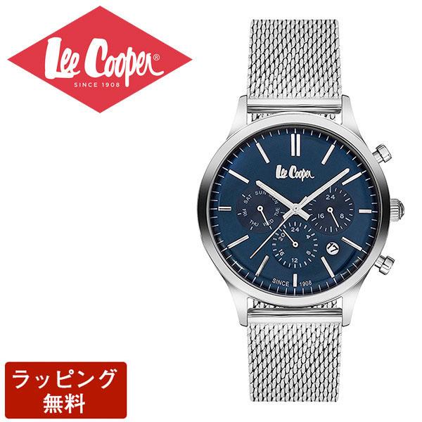 リークーパー 腕時計 Lee Cooper リークーパー QUARTZ クオーツ Super metal スーパーメタル CHRONOGRAPH クロノグラフ メンズ 腕時計 LC6294.390