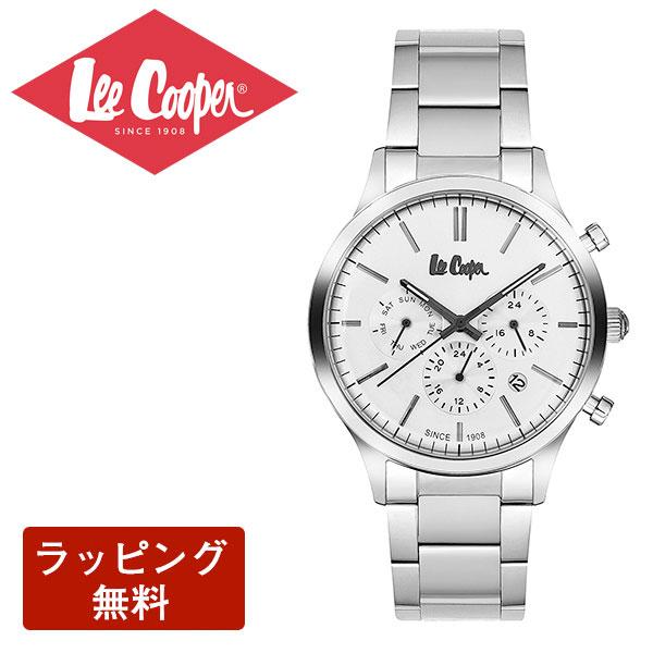 リークーパー 腕時計 Lee Cooper リークーパー QUARTZ クオーツ Super metal スーパーメタル CHRONOGRAPH クロノグラフ メンズ 腕時計 LC6295.330
