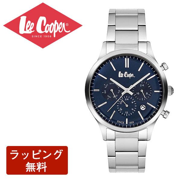 在庫あり□ 腕時計 Lee Cooper リークーパー QUARTZ クオーツ Super metal スーパーメタル CHRONOGRAPH クロノグラフ メンズ 腕時計 LC6295.390