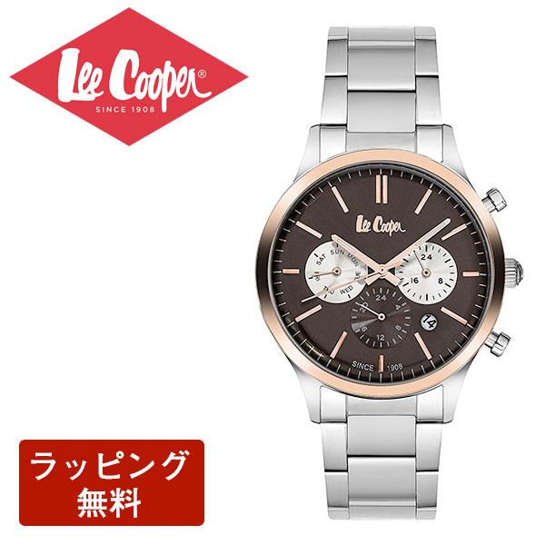 リークーパー 腕時計 Lee Cooper リークーパー QUARTZ クオーツ Super metal スーパーメタル CHRONOGRAPH クロノグラフ メンズ 腕時計 LC6295.540