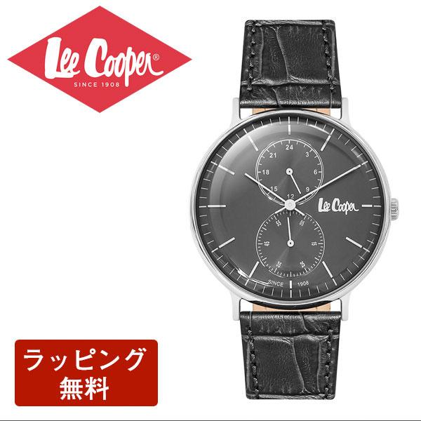 在庫あり□ リークーパー 腕時計 Lee Cooper リークーパー QUARTZ クオーツ Super metal スーパーメタル メンズ 腕時計 LC6381.361