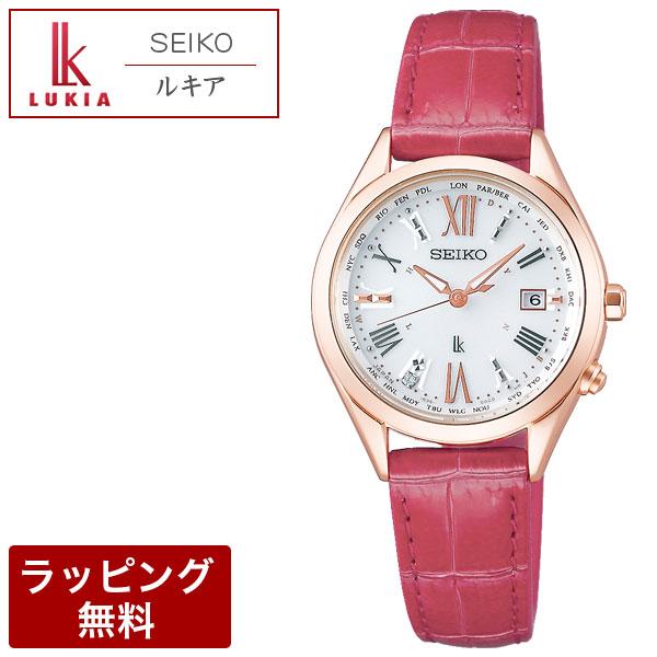 セイコー 腕時計 SEIKO セイコー LUKIA ルキア ソーラー電波修正 レディダイヤ レディース 腕時計 SSQV042