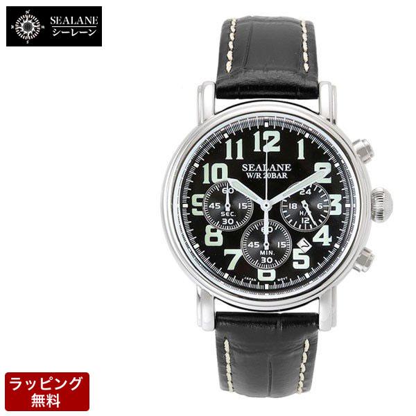 \ポイント10倍!さらにクーポン有/3/11 1:59まで! シーレーン 腕時計 SEALANE メンズ 腕時計 SE14-BK