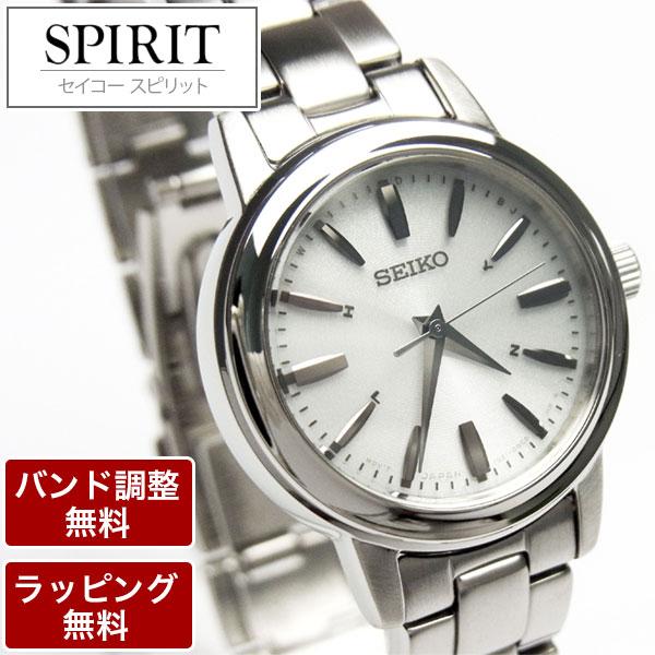 セイコー 腕時計 SEIKO セイコー SPIRIT スピリット ソーラー電波時計 ペアモデル レディース 腕時計 SSDY017 就職祝 入学祝 御祝