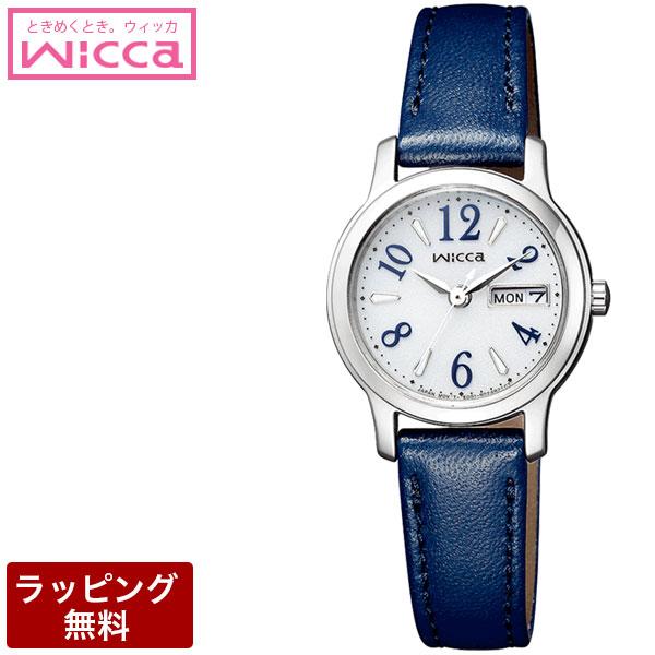 シチズン 腕時計 CITIZEN シチズン wicca ウィッカ ソーラーテック(電波受信機能なし) レディース 腕時計 KH3-410-10