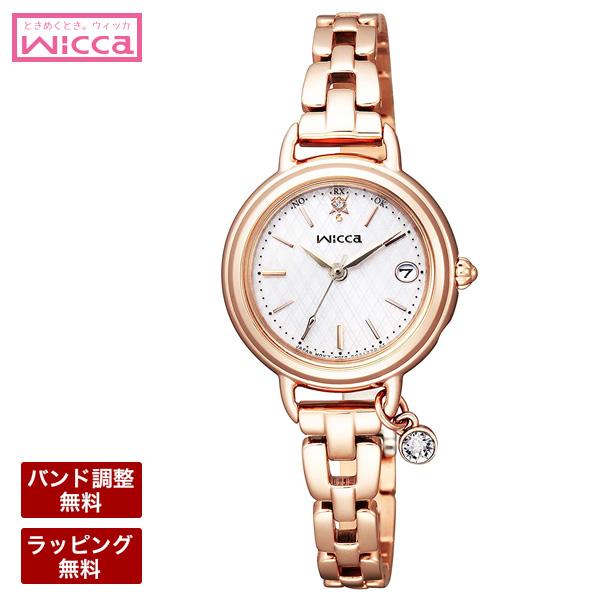シチズン 腕時計 CITIZEN シチズン wicca ウィッカ レディース 腕時計 ソーラーテック電波時計 「ブレスライン」シリーズ KL0-529-31