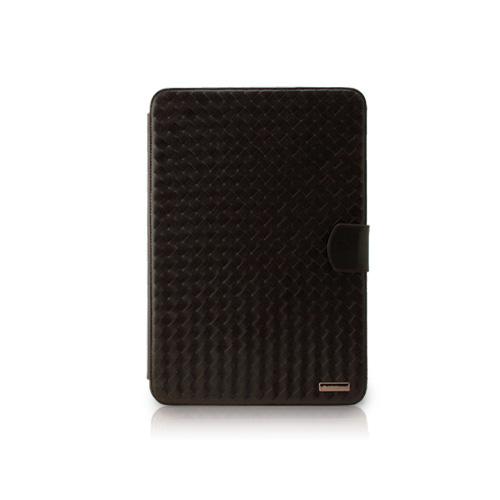 GalaxyTab 10.1 LTE  Prestige Italian Luxury Mash Black chocolate イタリアン天然皮革 Z398GT2