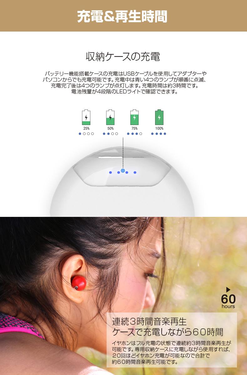 이어 폰 Bluetooth 완전 무선 이어 폰 Air Twins(에아트인즈) 모바일 배터리 초소형 좌우 독립 완전 독립저반발 이어 피스 Yell Acoustic 엘 어쿼스틱
