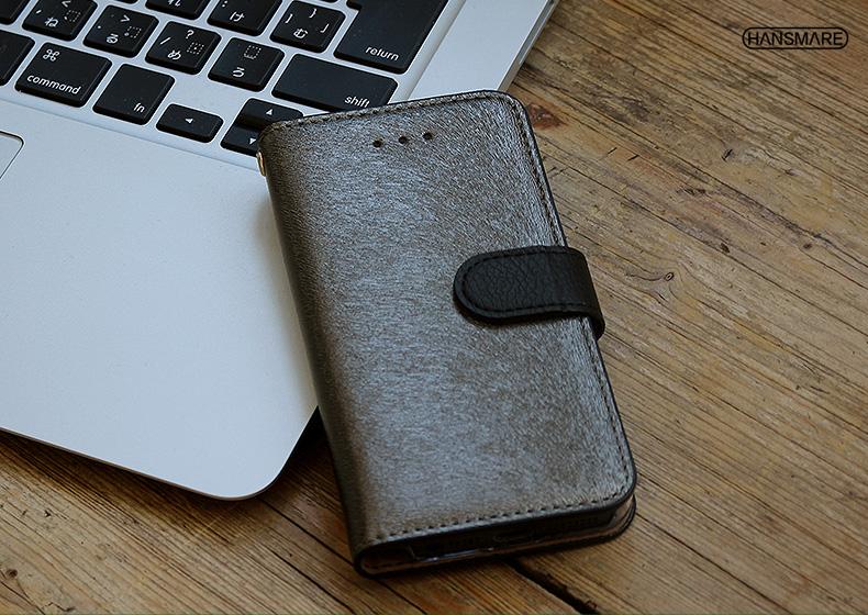 iPhone7 Plus 케이스 수첩형 HANSMARE CALF Diary (한스마레카후다이아리) 아이폰 커버 스탠드 기능