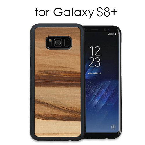 new product 560cf f0090 Galaxy S8+ case tree Man&Wood Cappuccino (man and Wood cappuccino) galaxy S  eight positive cover wooden SC-03J SCV35