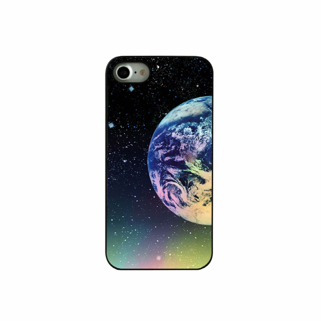 iPhone7 case Dparks Twinkle Case Earth &Moon (die parks twinkle case Earth and moon) iPhone cover glitter holographic