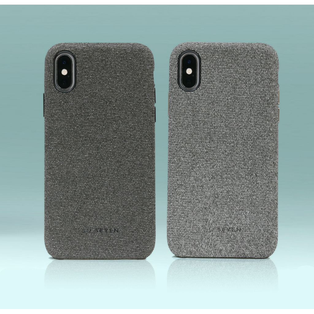 fabric iphone xs case