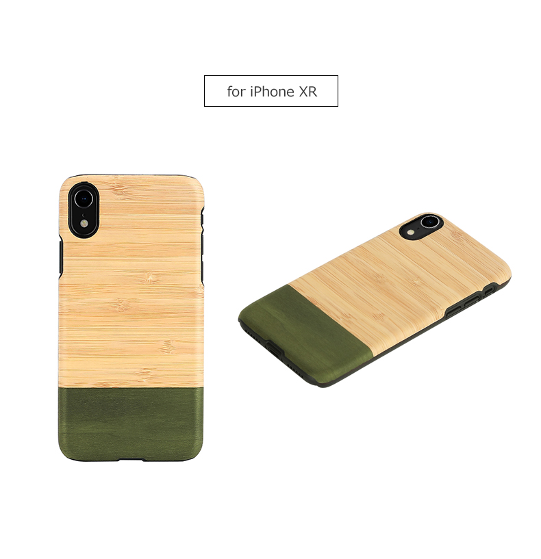 buy online b60a3 a0dd4 iPhone XR case tree Man&Wood Bamboo Forest (man and Wood bamboo Forest)  eyephone cover wooden bamboo material