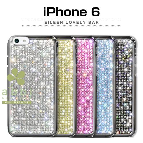 iPhone6s/6 ケース Dreamplus Eileen Lovely スワロフスキー (アイリーンラブリー スワロフスキー) スワロ ラインストーン バータイプ ハードケース きらきら,ドリームプラス,レザーケース,iPhone6 カバー,アイホン6 ケース,iPhone6 4.7イン カバー