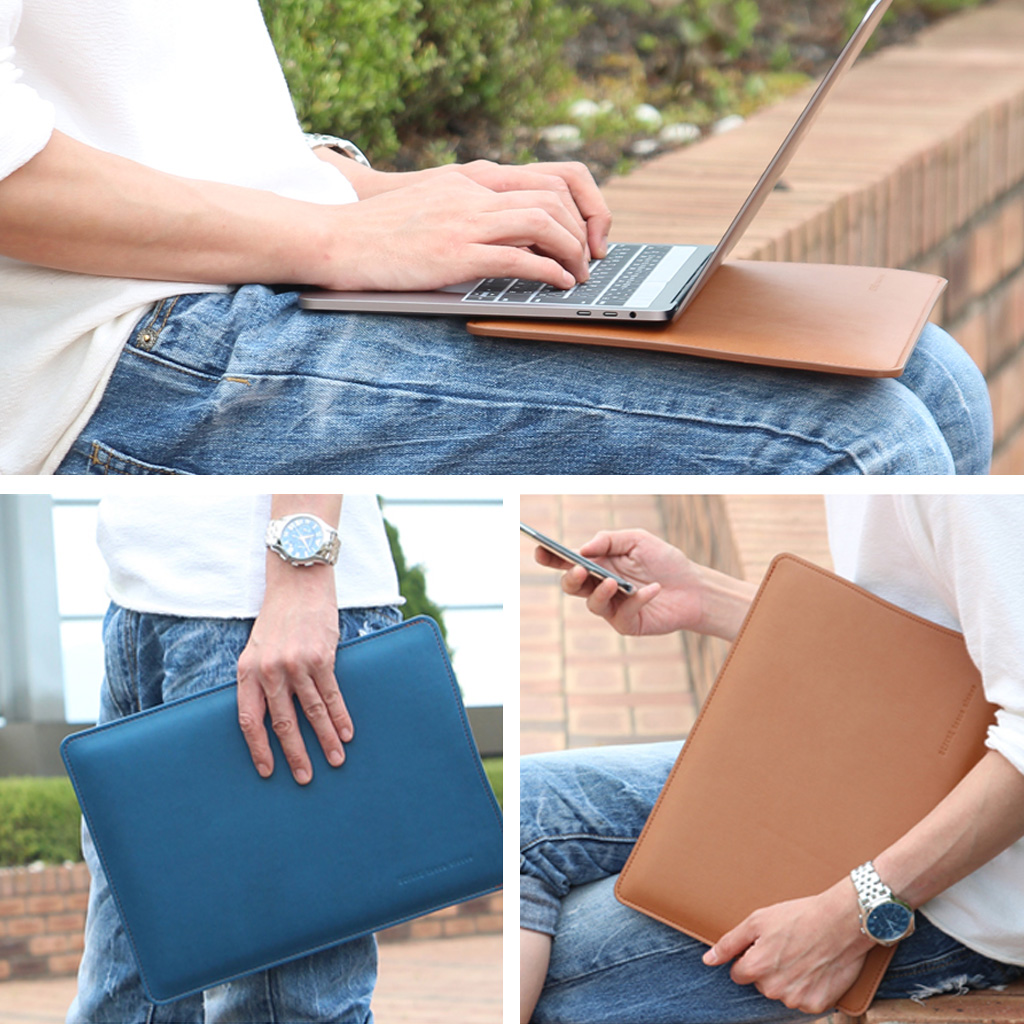 2018 MacBook Air 13インチ / MacBook Pro 13インチ(2016) & MacBook Pro 13インチ(2016,Touch Bar搭載モデル) 対応 BEFiNE tasca sleeve(ビファイン タスカスリーブ)マックブック プロ ケース カバー 収納バッグ スリーブ型 アップル