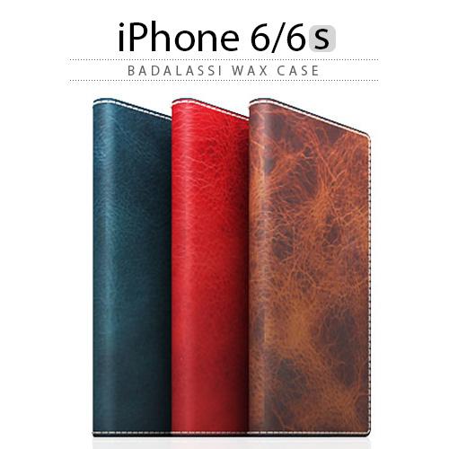 iPhone6s ケース 手帳型 SLG Design Badalassi Wax case(エスエルジーデザイン バダラッシワックスケース) 本革 緑 赤 茶 ベジタブルタンニンレザー スマホケース iPhoneカバー おしゃれ 人気 通販 かわいい 可愛い アイフォン6s アイホン6s