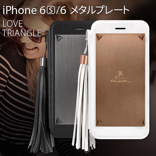 iPhone6s/6 ケース 手帳型 STI:L Love Triangle(スティール ラブトライアングル)アイフォン 手帳型ケース カバー アイホン6ケース アイホン6カバー CLEAR BOOK 手帳ケース シンプル プレゼント ギフト