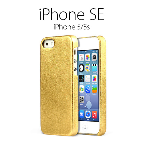 pretty nice 2c22c 0fbd0 iPhone5/5 S case ZENUS Prestige Gold Bar (then prestige gold bar) leather  champagne leather smahocase cover side brand DoCoMo flip book-stylish au ...