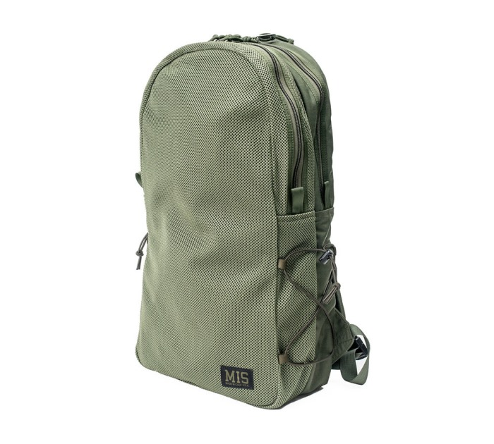■MIS(エムアイエス)■MESH DAYPACK P-1016-CAMO GREEN■MADE IN CALIFORNIA■送料無料